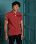 Superdry - Polo Shirt - Red